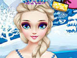 "Game ""Frozen Princess Stylish"""