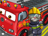 "Game""Tom Wash Fire Truck"""