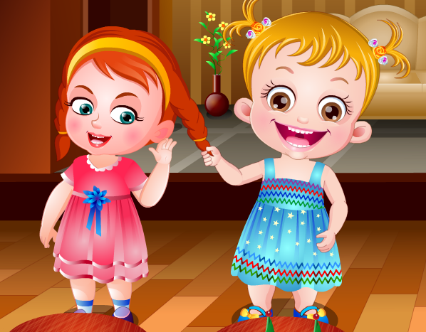 "Game""Baby Hazel Learns Manners"""