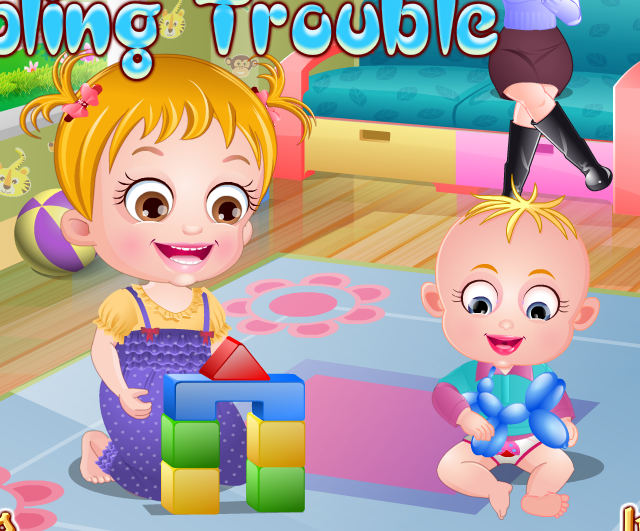 "Game ""Baby Hazel Sibling Trouble"""