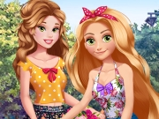 "Game""Princesses Bike Trip"""