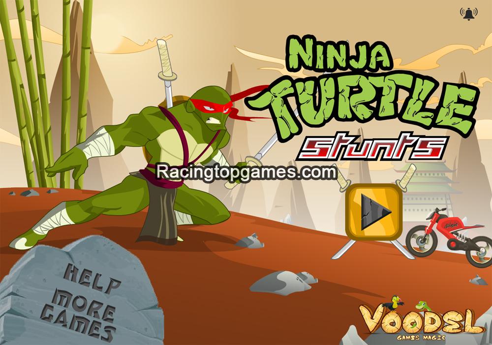 Ninja Turtle Stunts Inbox Games