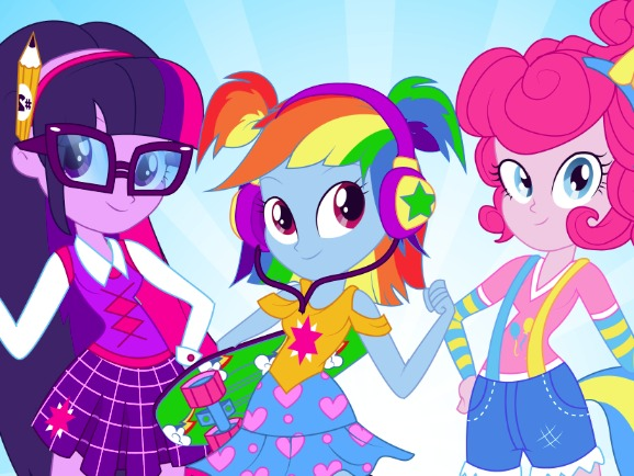 "Game""Equestria Girls Back To School"""