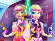 "Game""Elsa And Anna Landing On Mars"""