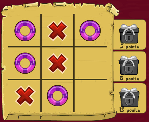 "Game""Tic Tac Toe 3"""