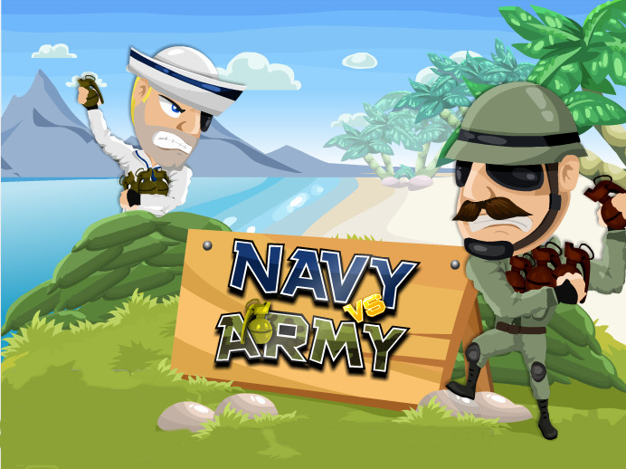 "Game ""Navy vs Army"""