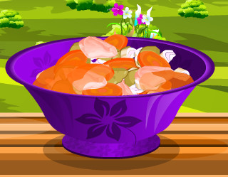 "Game ""Manman Beef Recipe"""